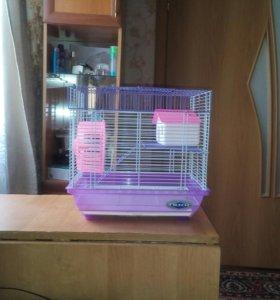 Клетка можно для попугаев и хомяков