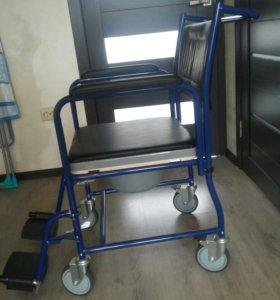 Кресло-коляска (туалет) НОВОЕ