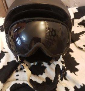 Горнолыжный шлем GIRO+маска ANON