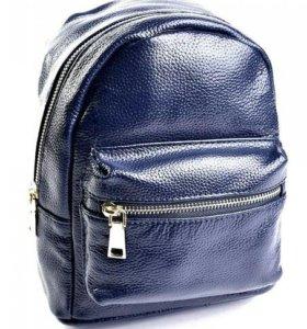 Маленький рюкзак натуральная кожа (3цвета)