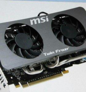 Видеокарта msi GeForce GTS 250 1gb