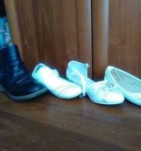 Обувь для девочки в ассортименте подержаная