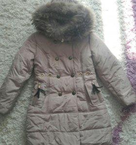 Пальто зимнее 134р-р