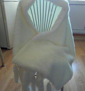Накидка для свадебного платья
