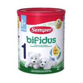Детская молочная сухая смесь Semper bifidus 1 и 2