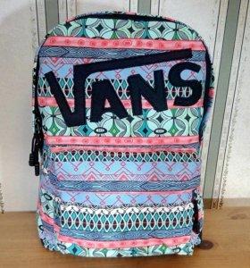 🌈 Рюкзак Vans с узорами