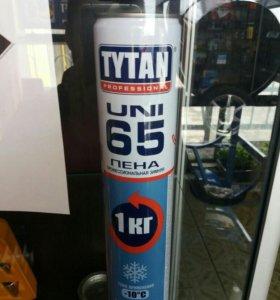 Пена монтажная TITAN 1000мл