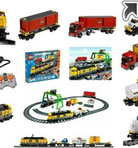 LEGO City 7939 Грузовой поезд лего