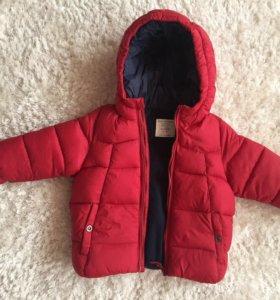 Новая тёплая куртка Zara.