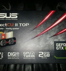 Видеокарта ASUS Geforce GTX 670