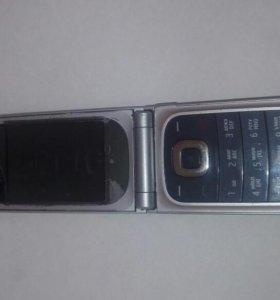 Телефон Nokia без аккумулятора