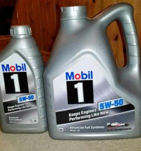 Mobil 1 5v-50 Моторное масло 5литров