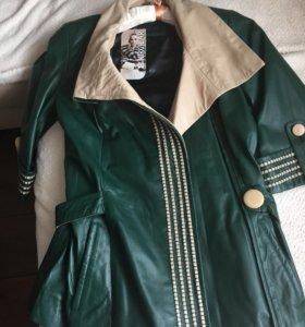 Кожаная куртка, новая