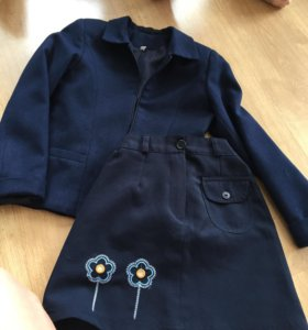 Пиджак и юбка на 1 или 2 класс