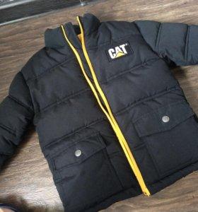 Куртка детская зимняя CAT оригинал