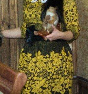 Платье-колокол