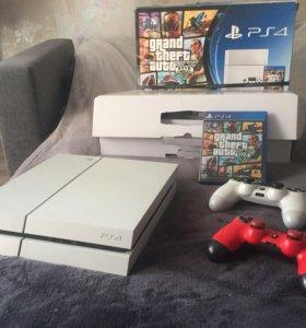 PS4 white 500gb bundle GTA5