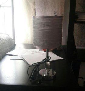 Серебряный светильник
