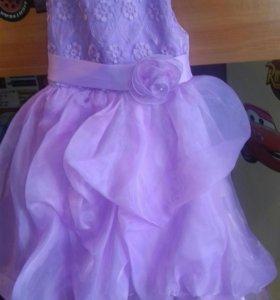 Платье рост примерно 104-110