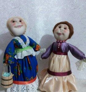 Куклы и атрибуты казачьего быта