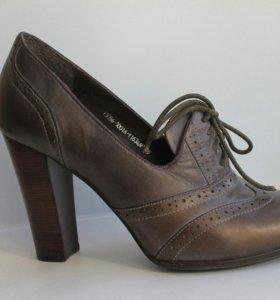 Туфли ботильоны кожаные Polann