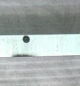 Планка ( жёсткость, усиление ) переднего бампера.