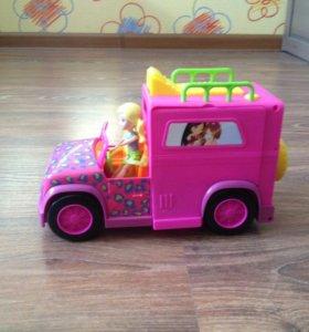 Машина для пикника с аксессуарами для девочки