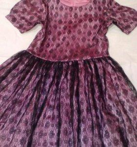 Платье ручой работы