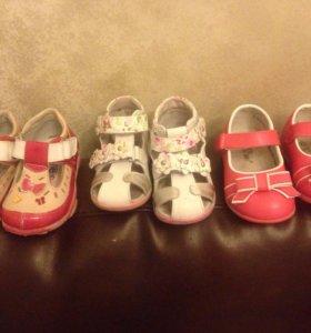 Босоножки, туфельки в идеальном состоянии!