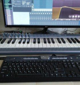 Миди клавиатура emu xboard 61