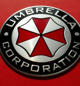 3D наклейка на автомобиль «Umbrella corporation»