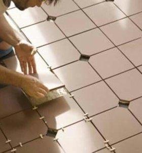 Укладка плитки керамической