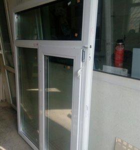 Продам новые окна пвх, балконные блоки