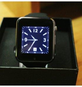 Смарт часы браслет с опциями смартфона