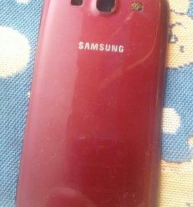 Задняя крышка на Samsung Galaxy S3