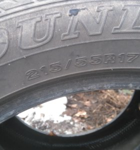 Шины Dunlop r17 215/55