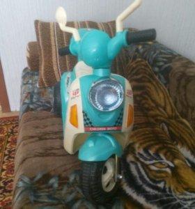 Детский мотоцикл аккумуляторный