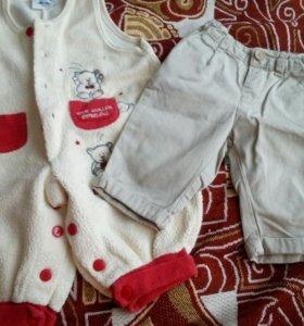 Ползунки и брюки