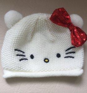 Шапочка весна-осень helo kitty