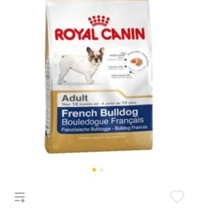 "Корм для собак, породы ""Бульдог"" 3кг."