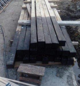Стойки дубовые для теплицы и др. (кв)100*100мм