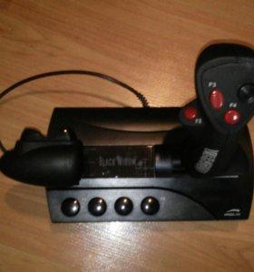Игровой джостик BLACK WIDOW