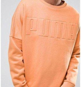 Оранжевый свитшот Puma
