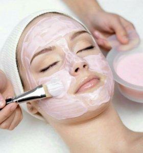 Крем для лица, маска, пилинг