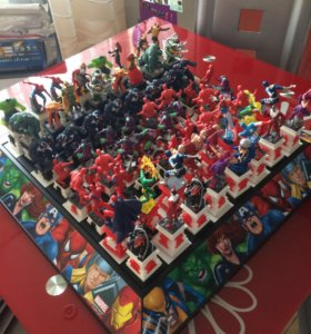 Супергерои шахматный курс