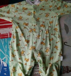 Слип комбинезон пижама