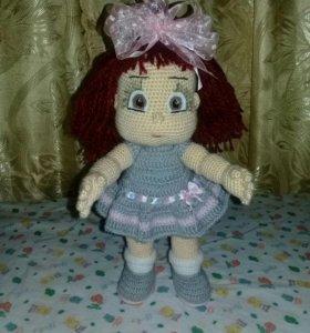 Вязанная куколка
