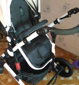 Продаю коляску Dragon baby с рождения до 3лет