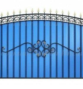 Кованные ворота,заборы, ограждения