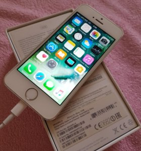 Apple 5s silver 32gb